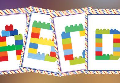 Betűk Lego-ból